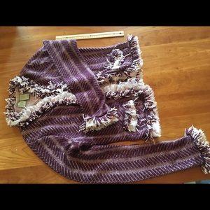 Anthropologie cardigan sweater